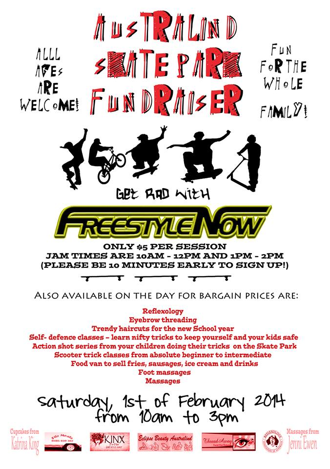 Australind fund raiser jam feb 2014