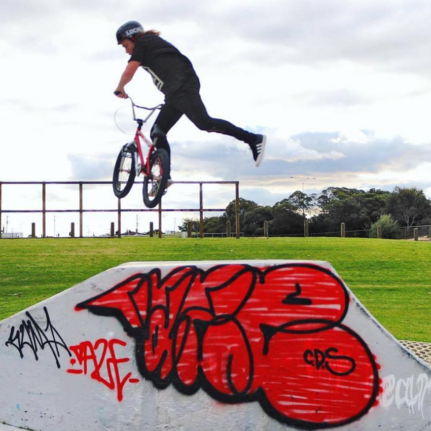 Jarrod Murfit at Bayswater skatepark
