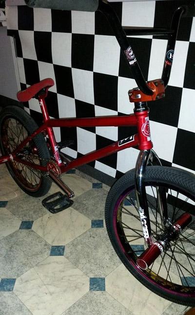 Lee Kirkman current bmx bike november 2015