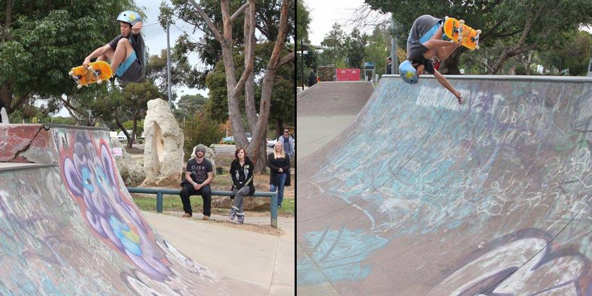 CJ Martinez Freestyle Now recruits squad member - skateboard Sep 2016