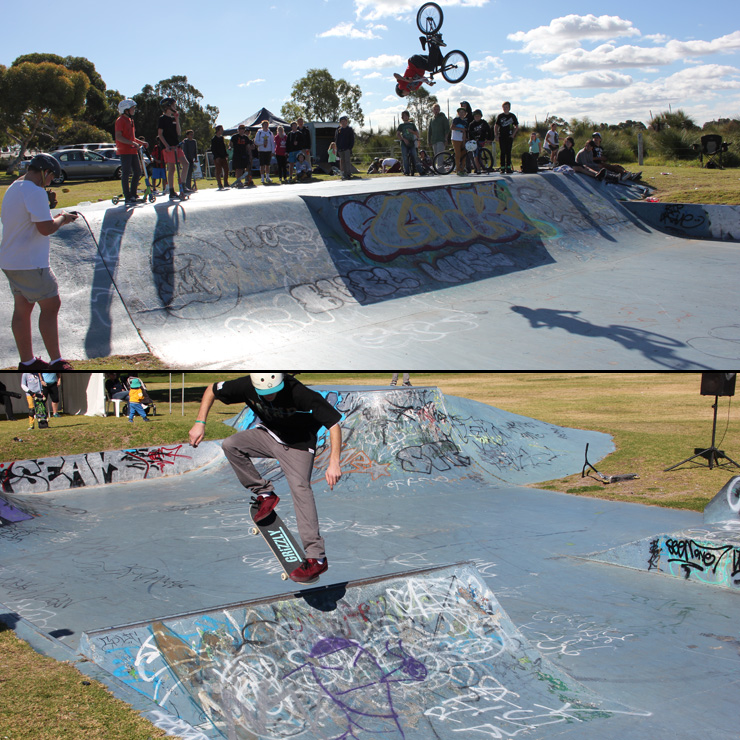Cooloongup skatepark competition July 2013