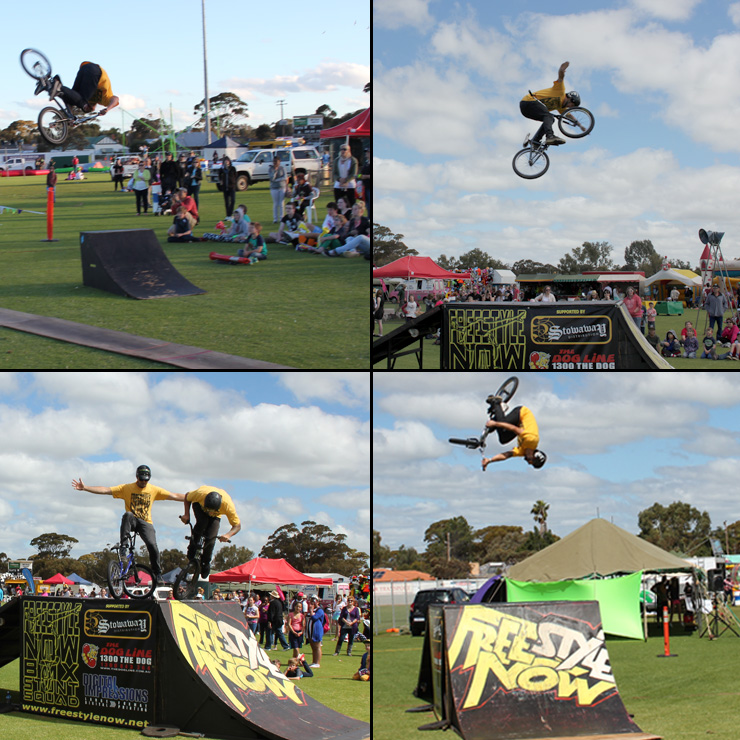 Kellerberrin bmx stunt shows 2013 2