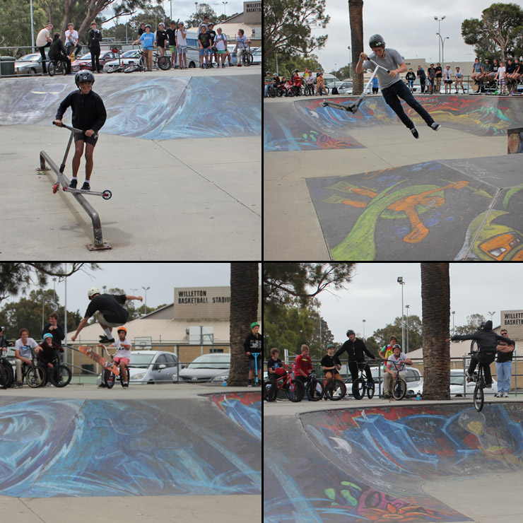 Willetton skatepark competition october 2013