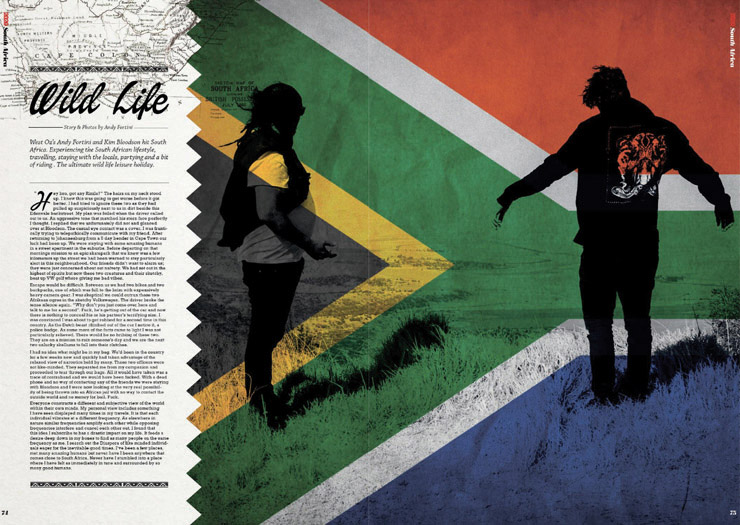 Wild life 2020 South Africa story Andy Fortini Nov 2013