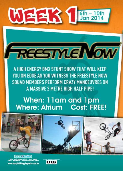 Morayfield shopping centre promo flyer