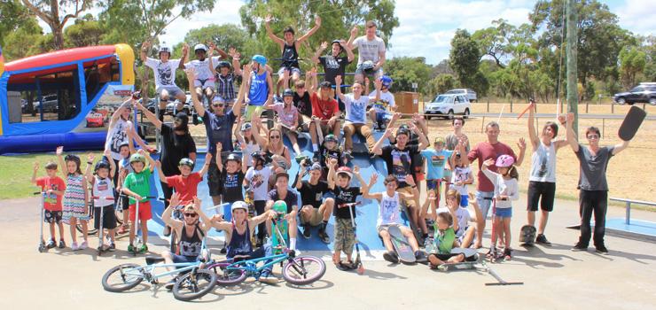 Australind skatepark fundraiser febuary 2014