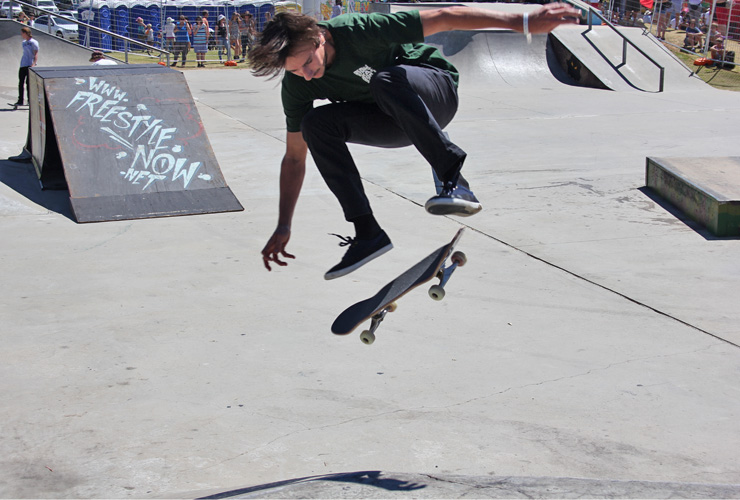 Action Sports Games 2014 - Barry Mansfield 1st place Skateboard park