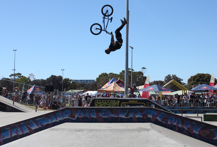 Action Sports Games 2014 - Jack Fahey 1st place BMX park