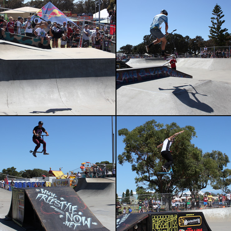 Action Sports Games 2014 Top 4 in scooter