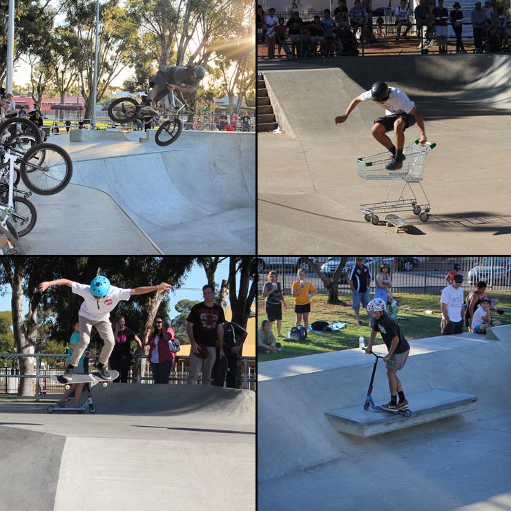 Kalgoorlie skatepark competition April 2014