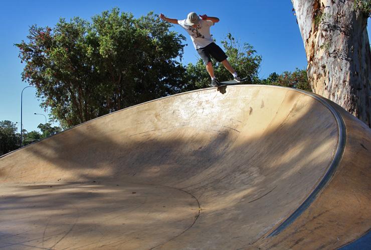 Mitch Harris Freestyle Now Armadale skatepark skateboard