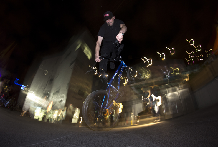melbourne federation square freestyle now bmx stunt show 21 june 2014 - Grant cruise decade