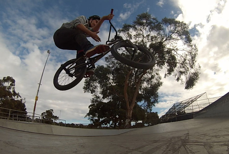 Oli Lane at Carine skatepark July 2014
