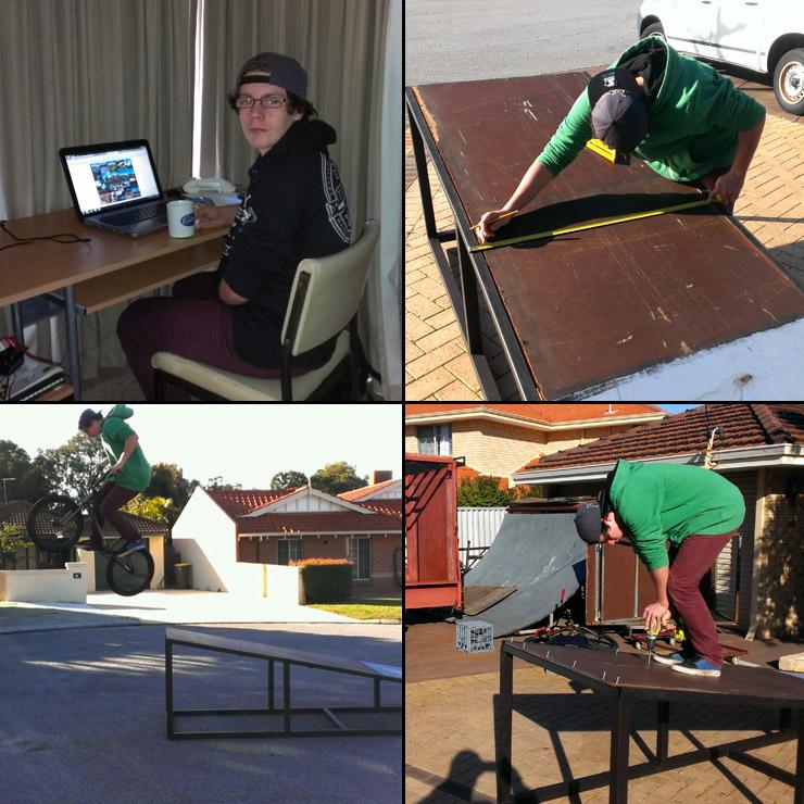 Oli Lane work experiance at Freestyle Now July 2014