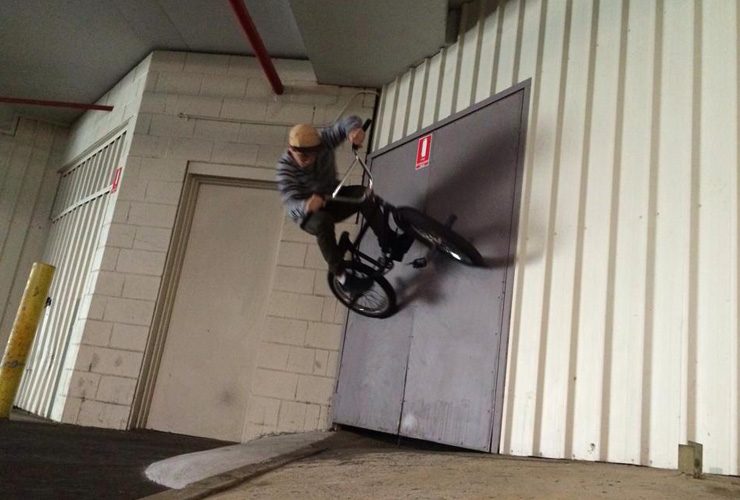 John Manning August 2014 wall ride