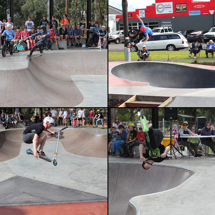 Collie skatepark competition 7 september 2014 - freestyle now
