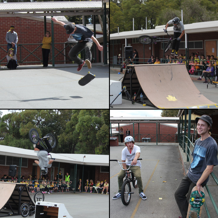 Freestyle Now Waroona school assembly presentation sep 2014