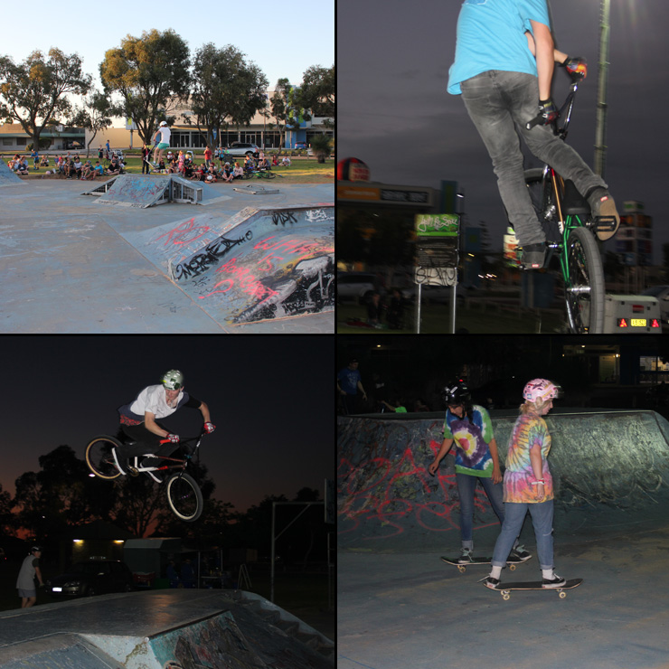 Port Kennedy  skatepark competition 5 september 2014 - freestyle now