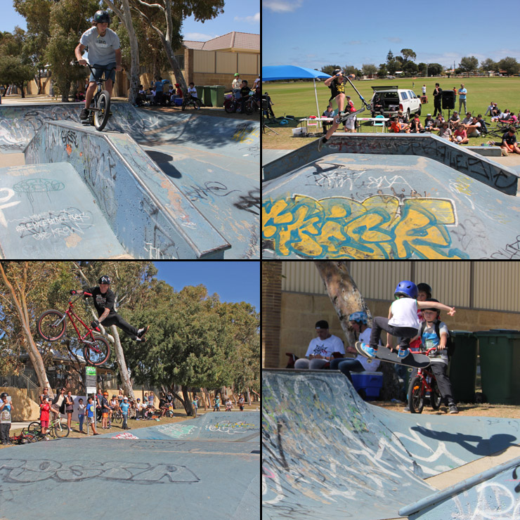 Singleton skatepark competition  9th October 2014- freestyle now