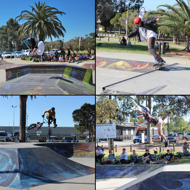 Willetton skatepark competition 10th October 2014 - freestyle now