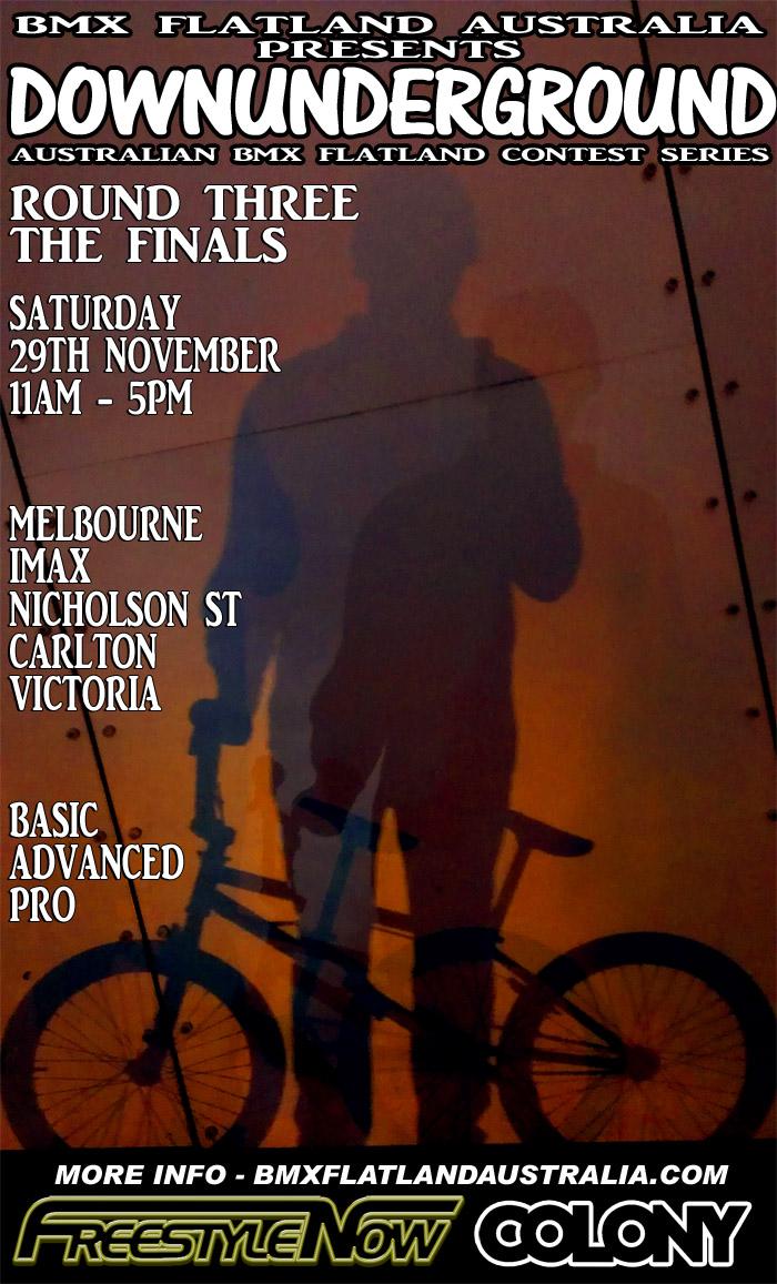 DownUnderGround Round 3 the finals Melbourne November 2014
