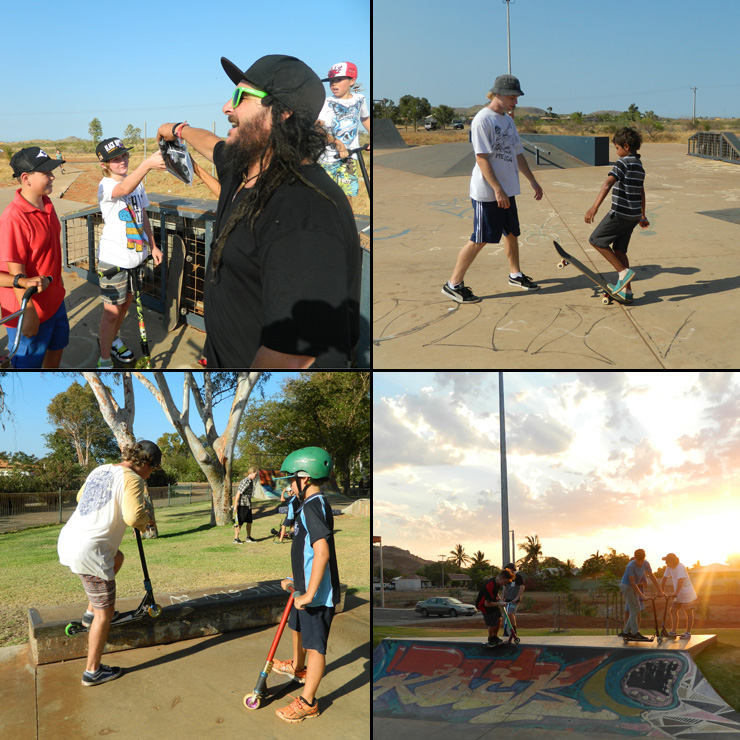 Freestyle Now Karratha skatapark coaching workshops 2014 A