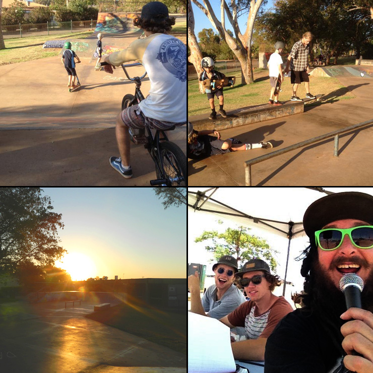 Freestyle Now Karratha skatapark coaching workshops 2014 B