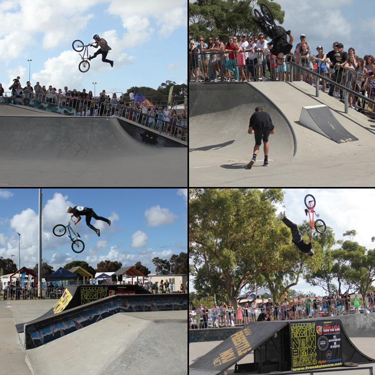 Action Sports Games 2015 - BMX Park competition
