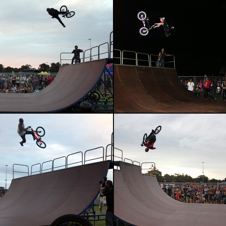 Action Sports Games 2015 - BMX halfpipe battle jam