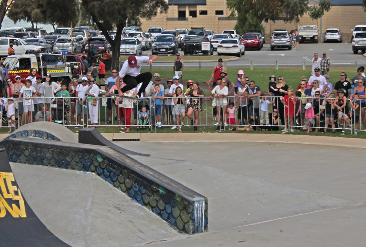 Action Sports Games 2015 - Barry Mansfield 1st place Skateboard park
