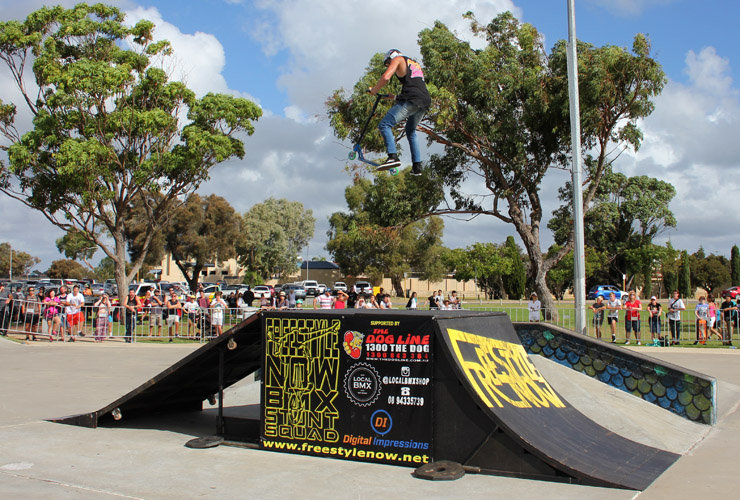 Action Sports Games 2015 - Ben Thomas 1st place Scooter