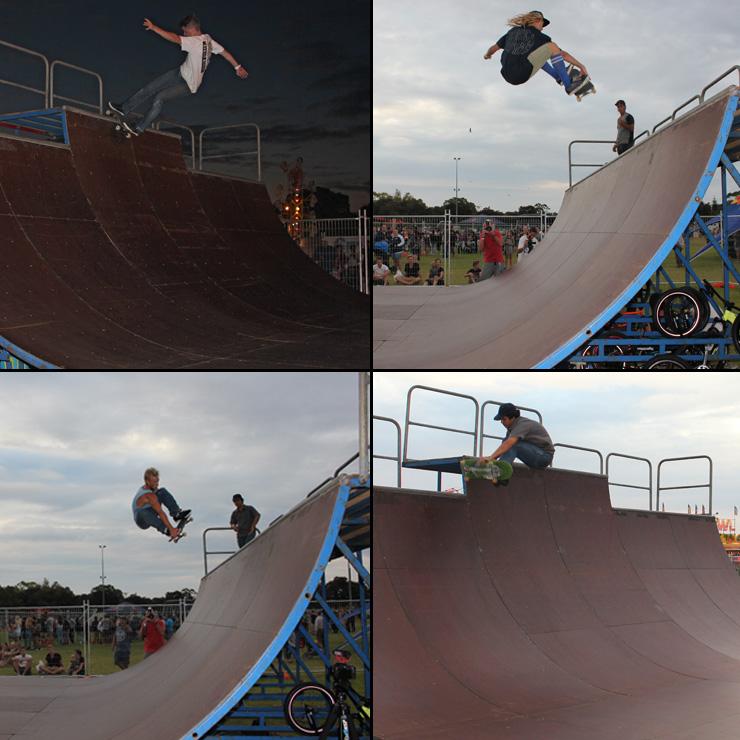 Action Sports Games 2015 - skateboard halfpipe battle jam