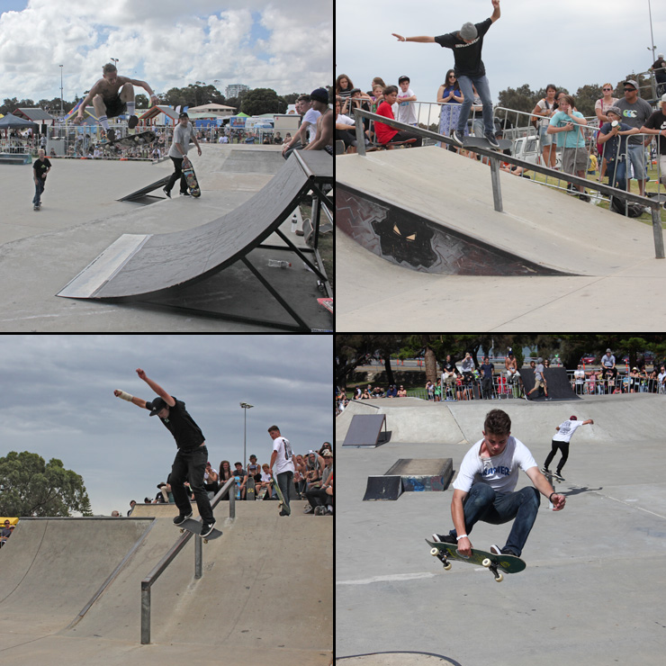 Action Sports Games 2015 - skateboard park competition
