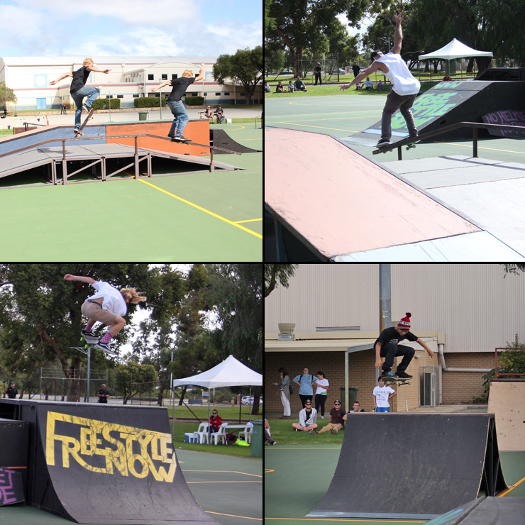 Freestyle Now rocky's final fest 2015 skateboard competition April 2015 bmx skateboard scooter competition