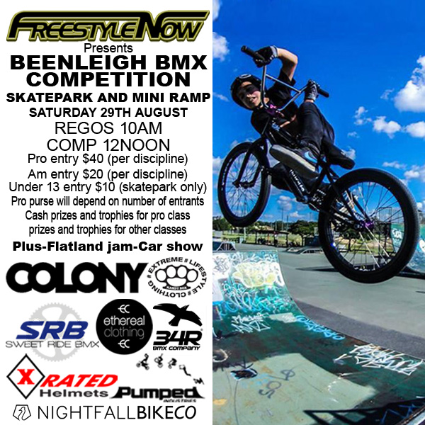 Freestyle Now Beenleigh bmx competition August