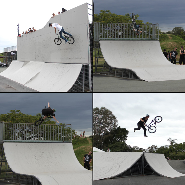 Freestyle Now Beenleigh bmx competition Amature class