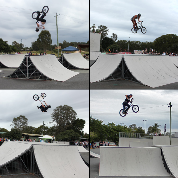 Freestyle Now Beenleigh bmx competition pro class