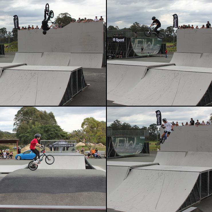 Freestyle Now Beenleigh bmx competition under 13's
