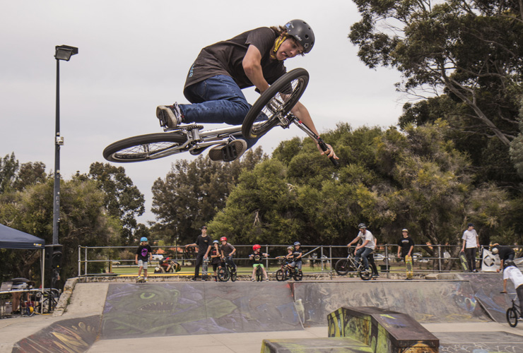 Freestyle Now Jack Carwardine table at Willetton 2015 photo Tim Sutherland