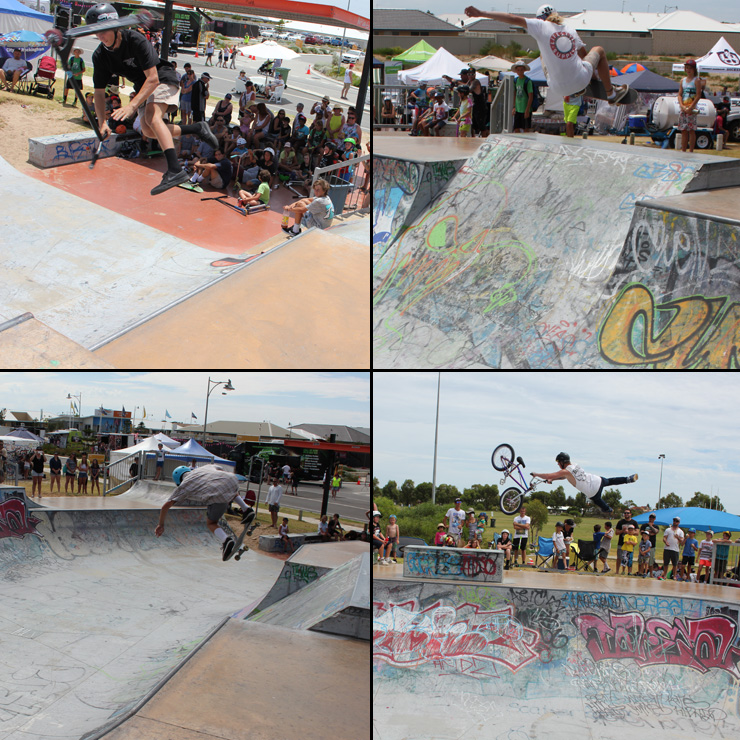 Golden Bay skatepark competition 16 january 2016 - Freestyle Now bmx skateboard scooter