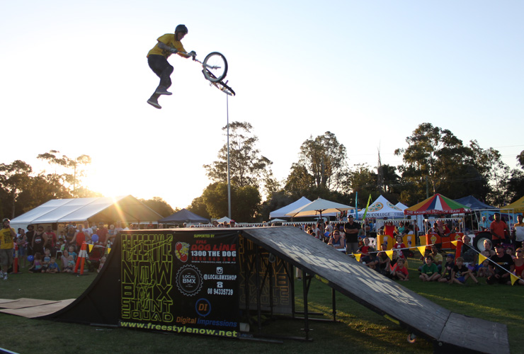 Dylan schmidt double tail whip at corymbia festival march 2016