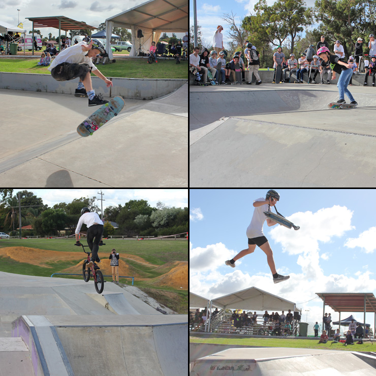 freestyle now - High Wycombe skatepark bmx skateboard scooter competition May 2016