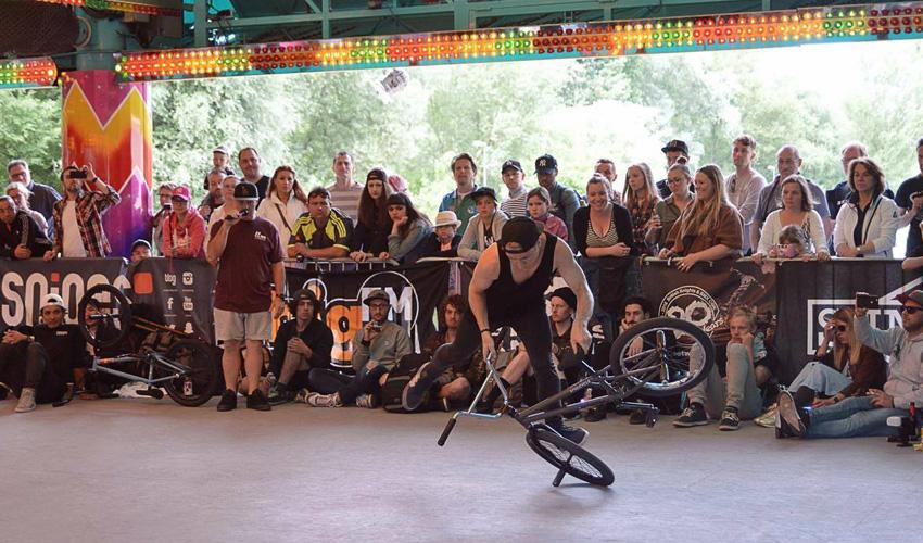Dez Maarsen - BMX Cologne in Germany 2016