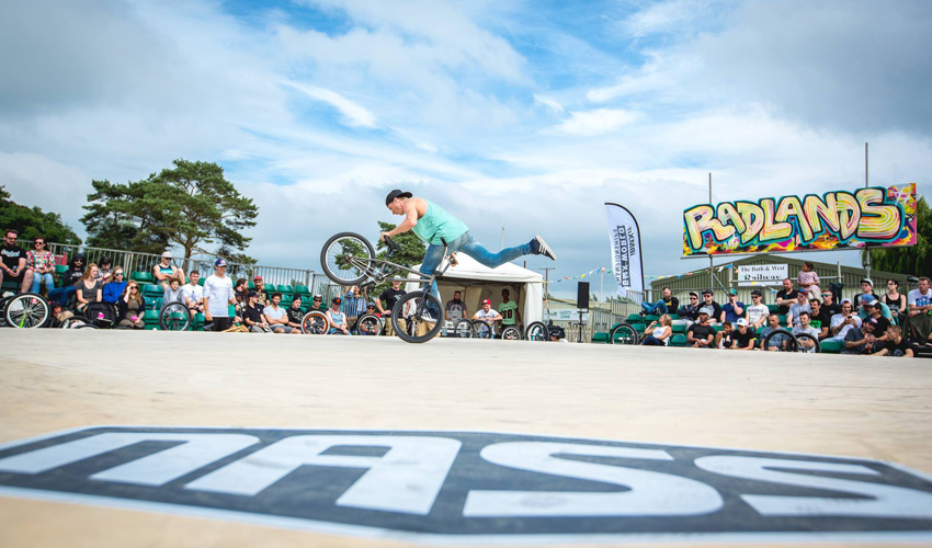 Dez Maarsen - BMX flatland World Championship hosted by the IBMXFF at the NASS festival