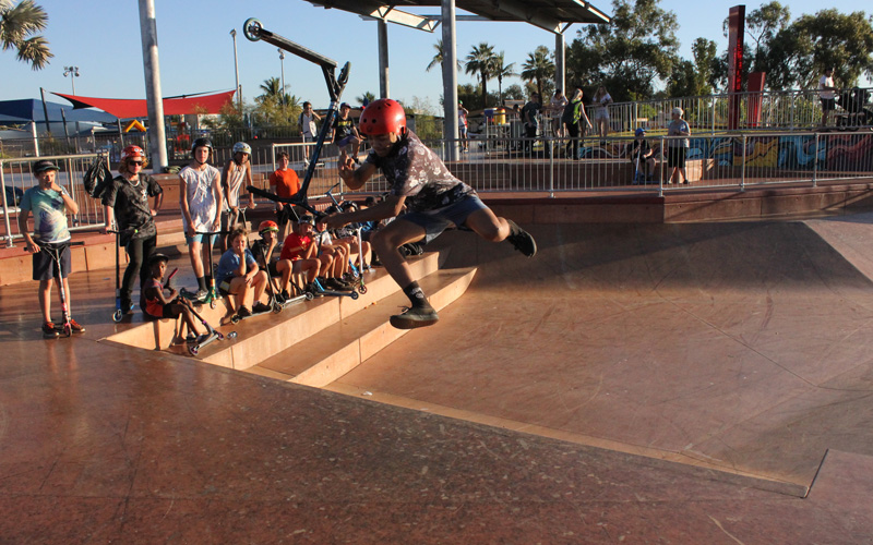 Freestyle Now South Hedland skatepark competition 13th August 2016 - Anthony Dann