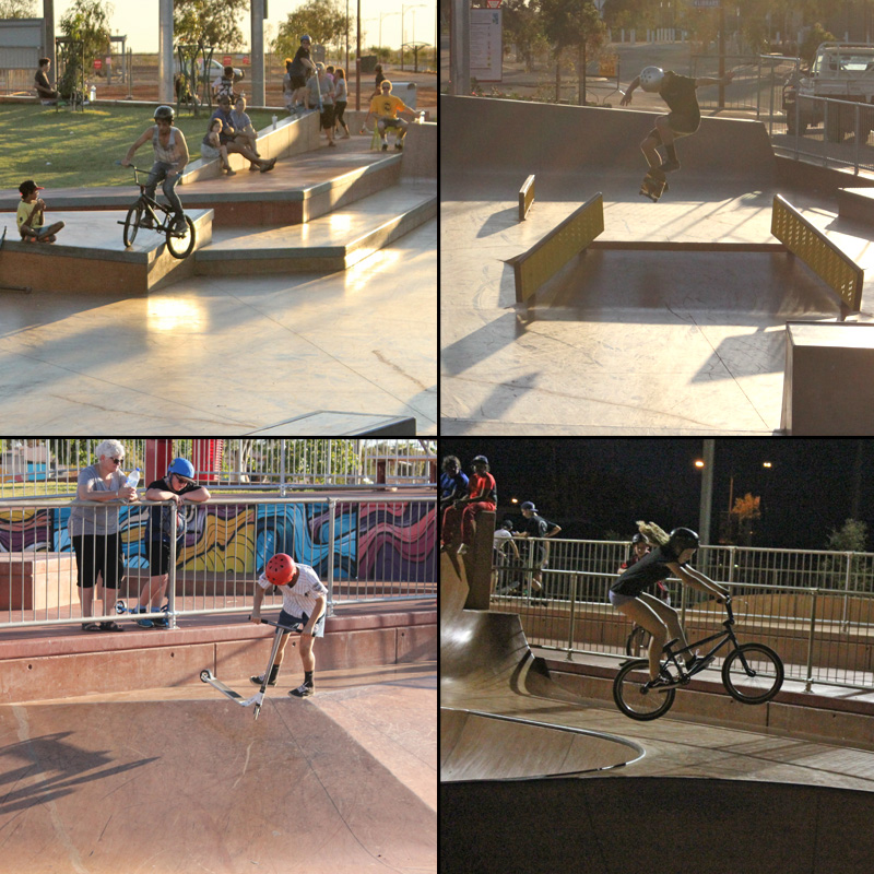Freestyle Now South Hedland skatepark competition 13th August 2016