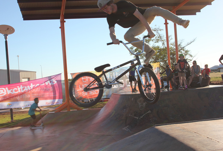 Karratha skatepark competition - Freestyle Now July 2016