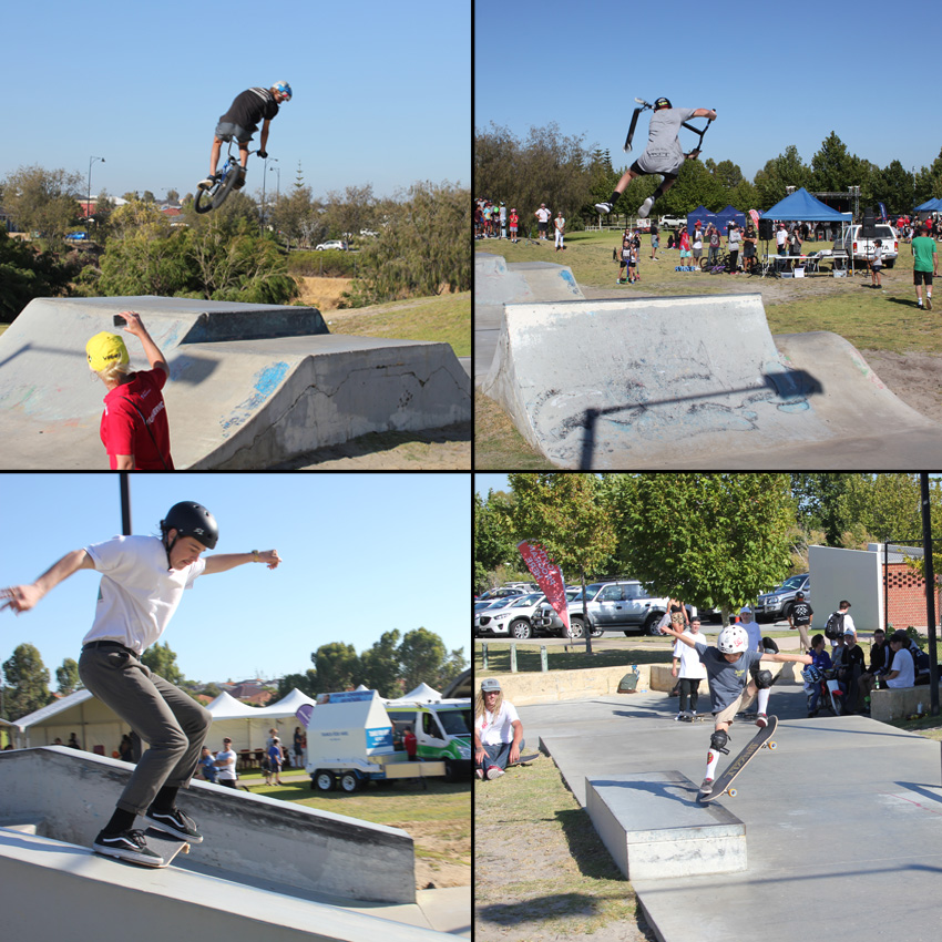 Freestylew Now Butler skatepark competition January 2017 bmx skateboard scooter competition