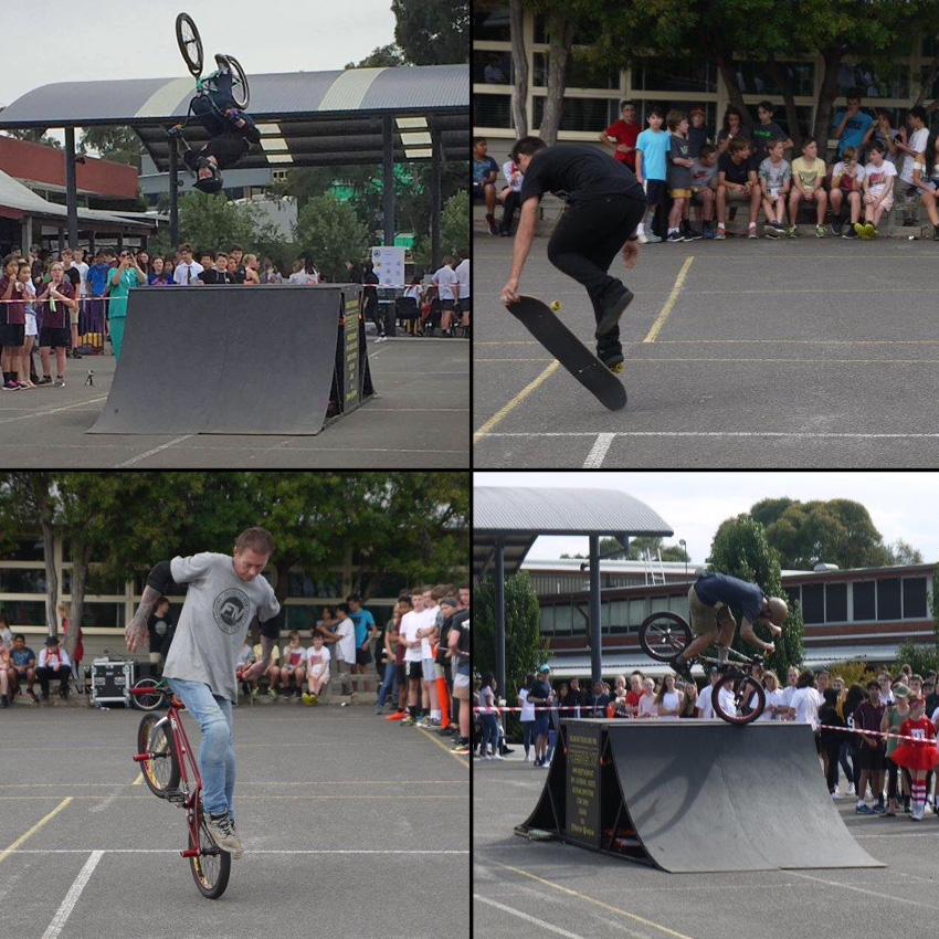 Freestyle Now school assembly - Ringwood Secondary College