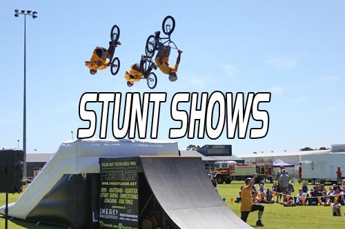 BMX – Skateboard – Scooter – Stunt Shows